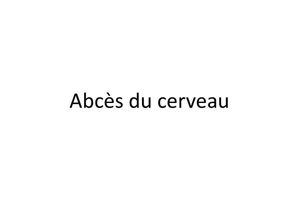 Abcès du cerveau .PDF