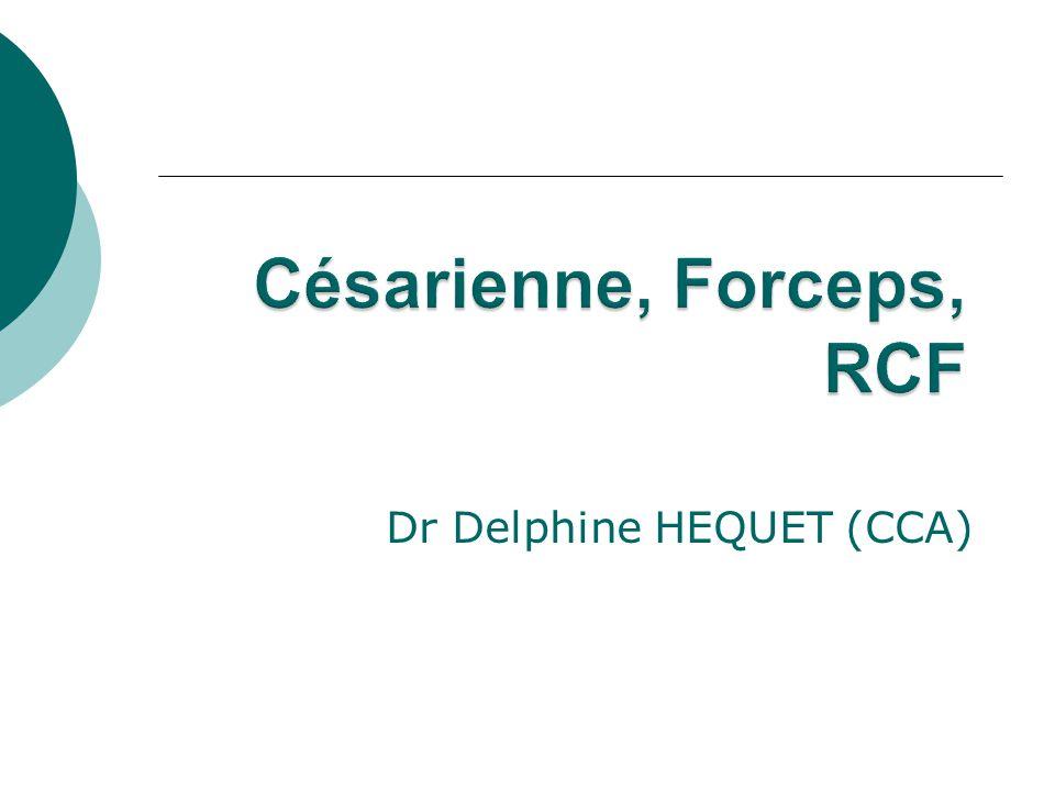 Césarienne Forceps RCF . PDF