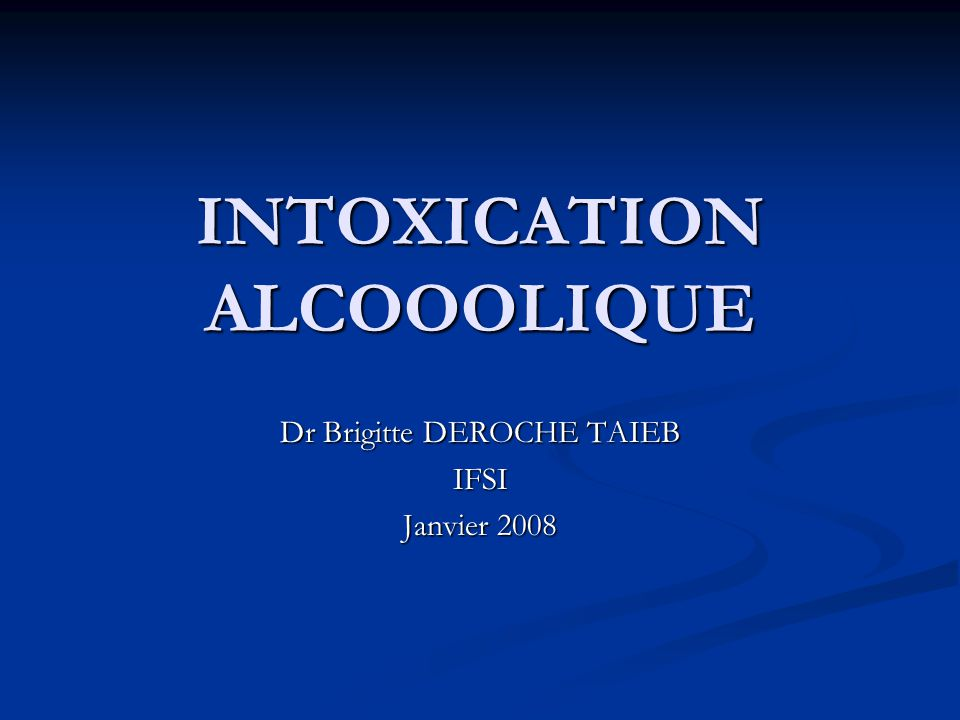 INTOXICATION ALCOOOLIQUE .PDF