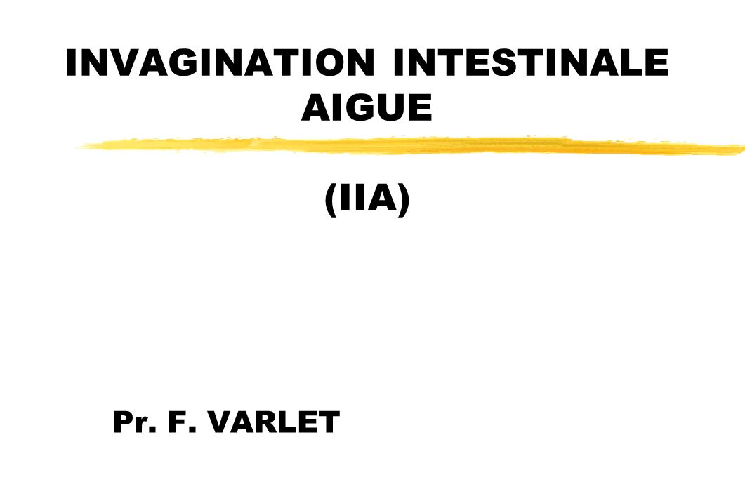 INVAGINATION INTESTINALE AIGUE .PDF