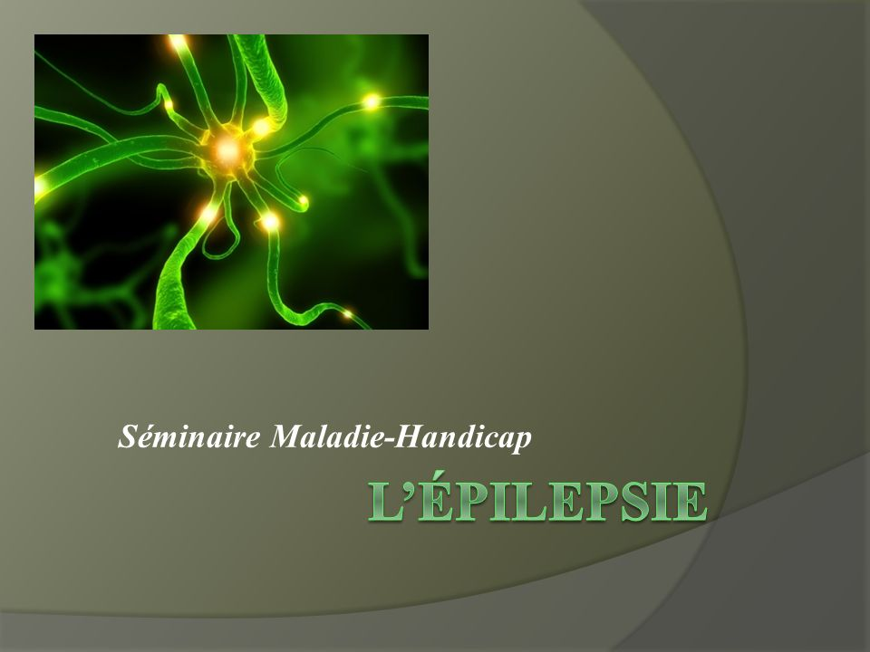 L'épilepsie .QCM (PDF)