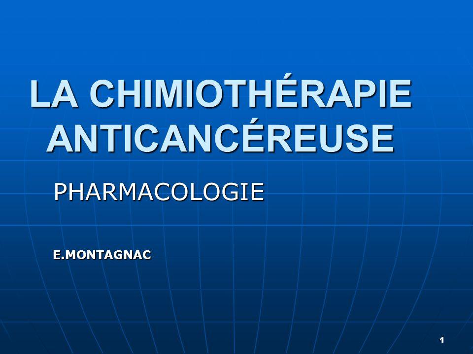 LA CHIMIOTHÉRAPIE ANTICANCÉREUSE .PDF