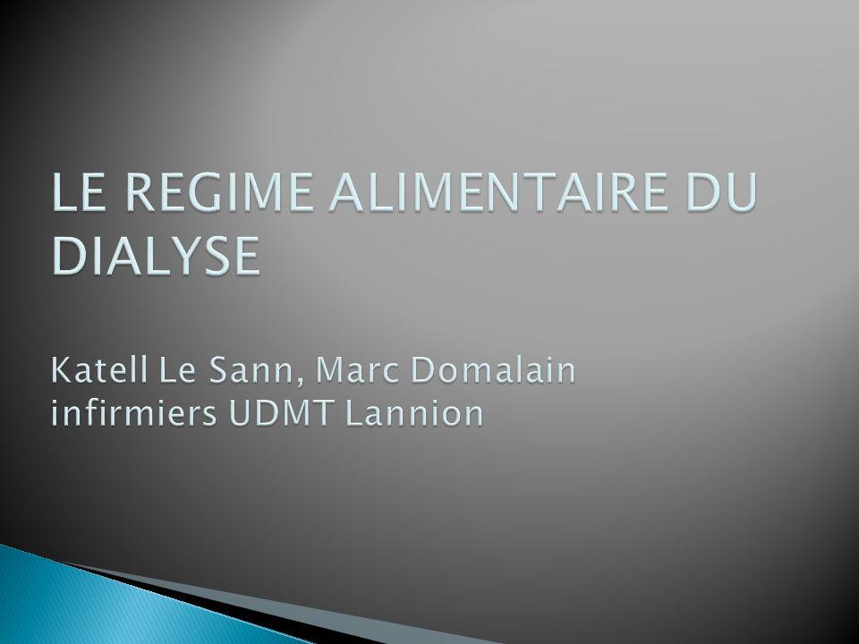 LE REGIME ALIMENTAIRE DU DIALYSE .PDF