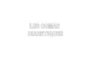 LES COMAS DIABÉTIQUES .PDF