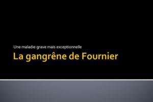 La gangrêne de Fournier .PDF