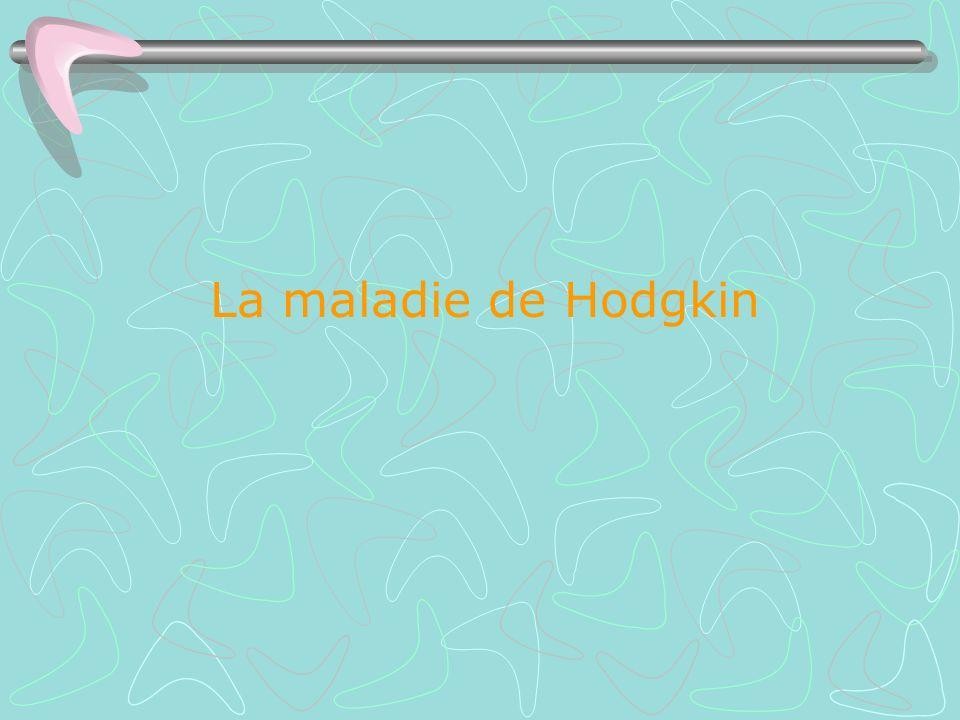 La maladie de Hodgkin .PDF