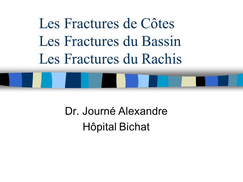 Les Fractures de Côtes Les Fractures du Bassin Les Fractures du Rachis .PDF