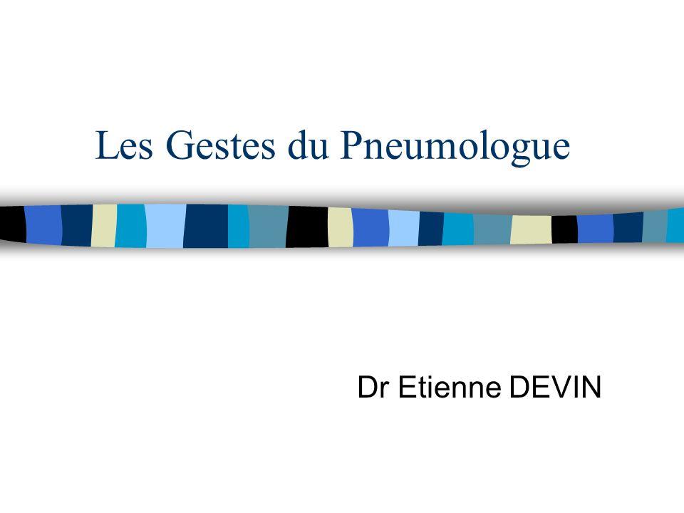 Les Gestes du Pneumologue .PDF
