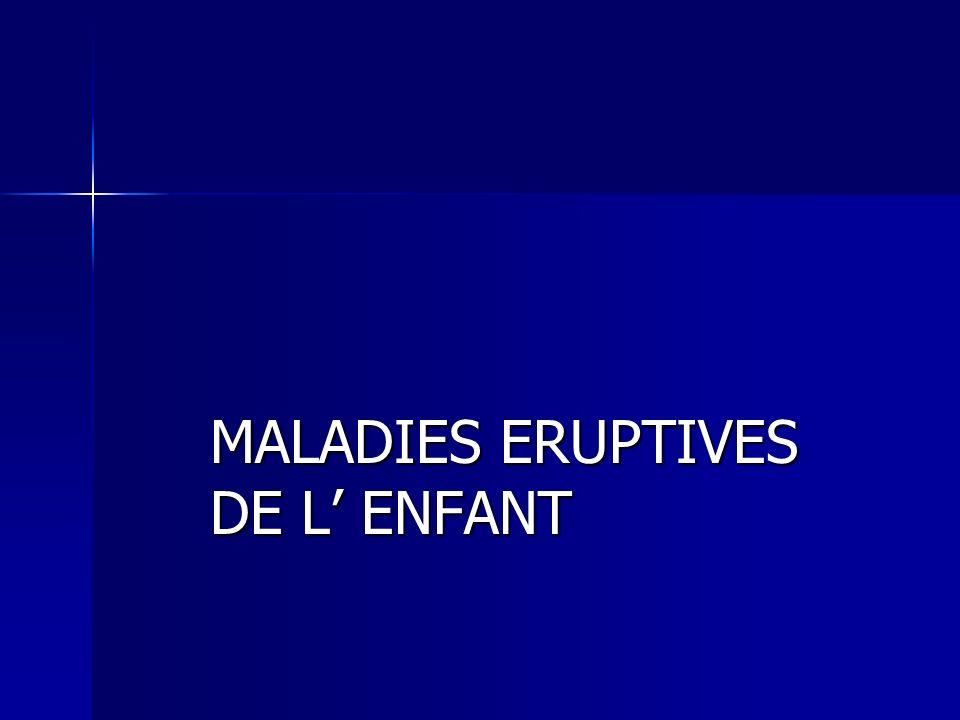 MALADIES ERUPTIVES DE L' ENFANT .PDF