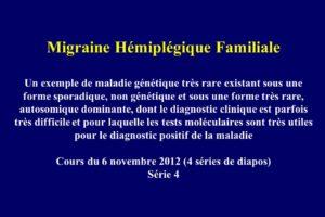 Migraine Hémiplégique Familiale .PDF