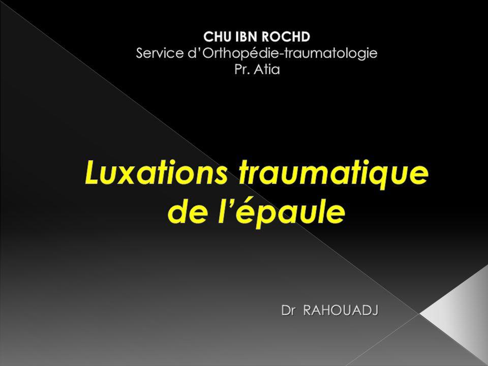 Luxations traumatique de l'épaule .PDF