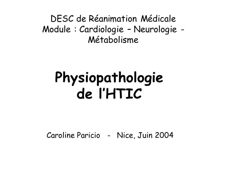 Physiopathologie de l'HTIC .PDF
