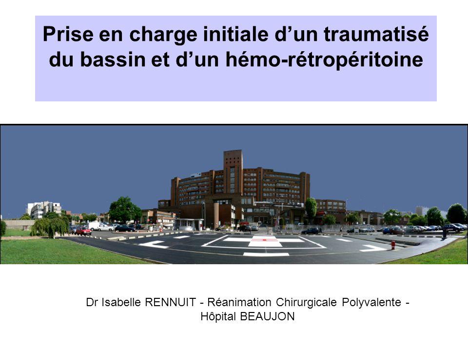 Prise en charge initiale d'un traumatisé du bassin et d'un hémo-rétropéritoine .PDF