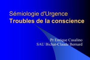 Sémiologie d'Urgence Troubles de la conscience .PDF