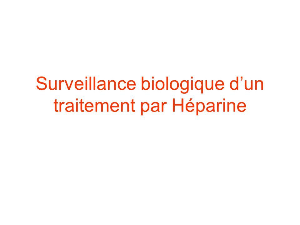 Surveillance biologique d'un traitement par Héparine .PDF