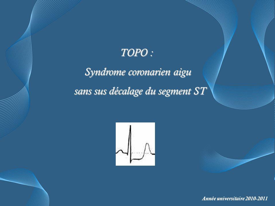 Syndrome coronarien aigu sans sus décalage du segment ST .PDF
