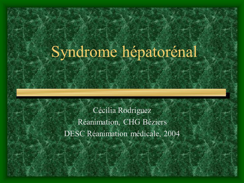 Syndrome hépatorénal .PDF