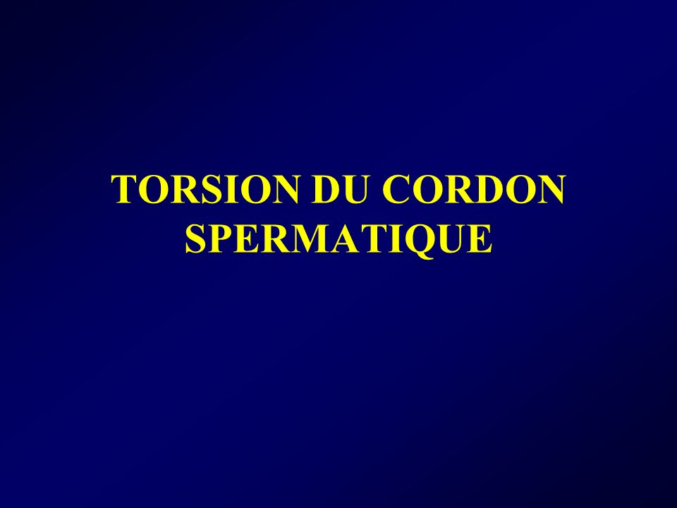 TORSION DU CORDON SPERMATIQUE .PDF