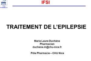 TRAITEMENT DE L'EPILEPSIE .PDF