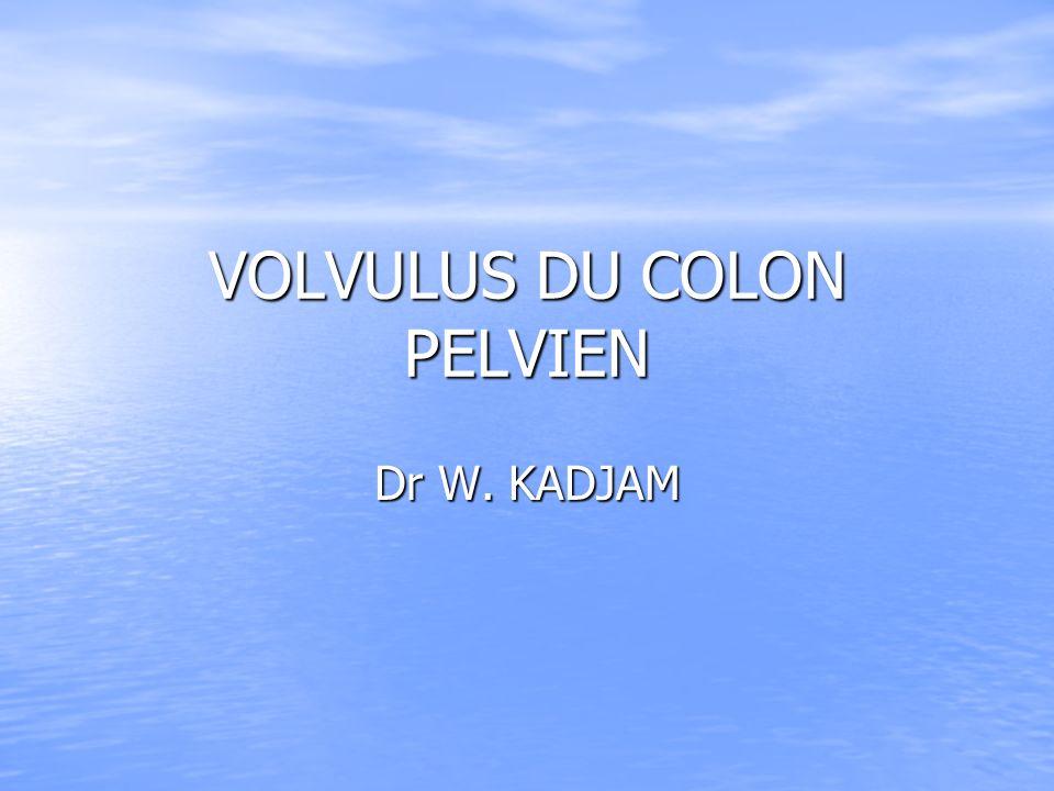 VOLVULUS DU COLON PELVIEN .PDF