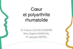 Cœur et polyarthrite rhumatoïde .PDF