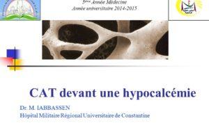 CAT devant une hypocalcémie .PDF