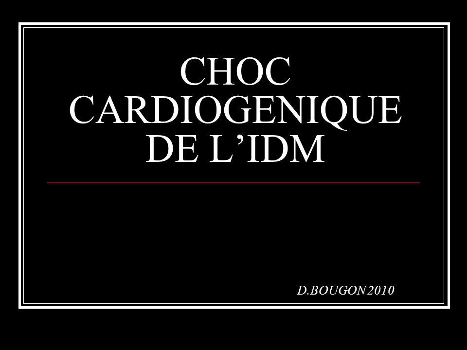 CHOC CARDIOGENIQUE DE L'IDM .PDF