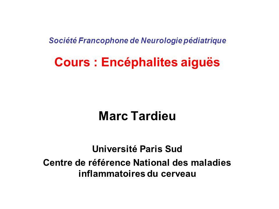 Cours encéphalites aiguës .PDF