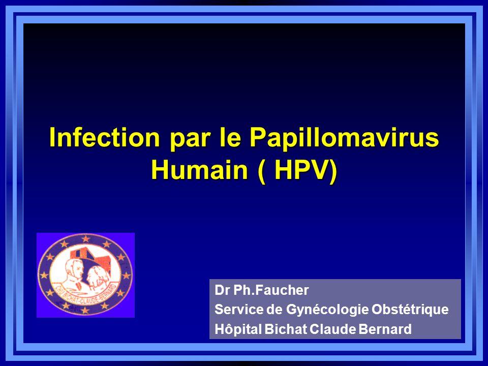 Infection par le Papillomavirus Humain ( HPV) .PDF