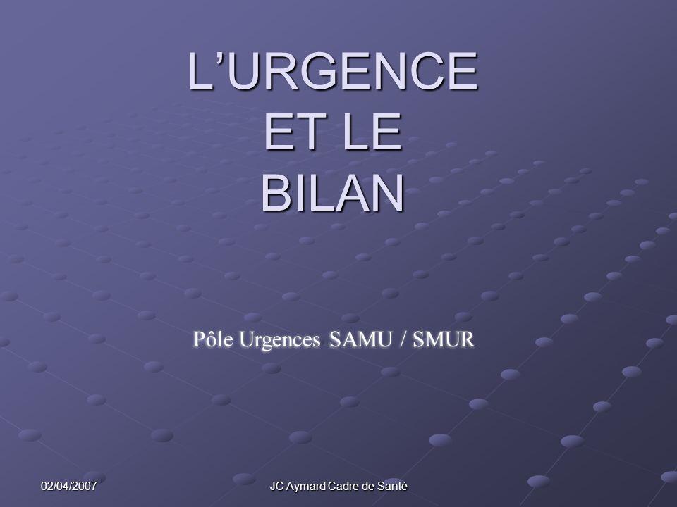 L'URGENCE ET LE BILAN .PDF