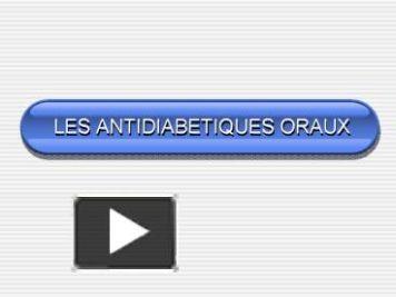 LES ANTIDIABÉTIQUES ORAUX .PDF