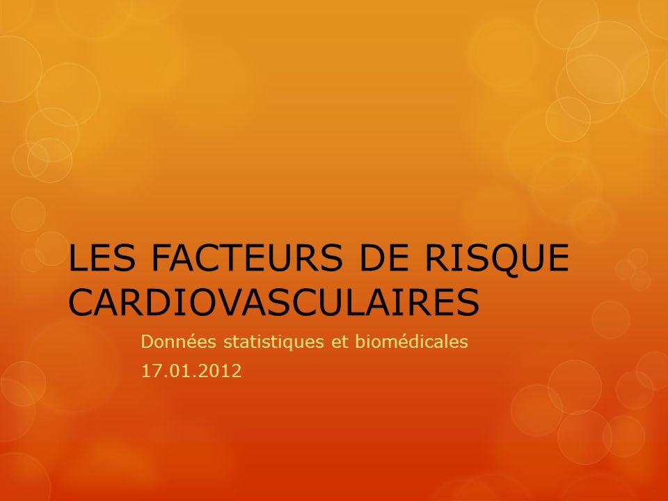 LES FACTEURS DE RISQUE CARDIOVASCULAIRES .PDF