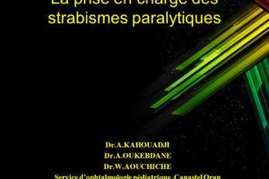 La prise en charge des strabismes paralytiques .PDF