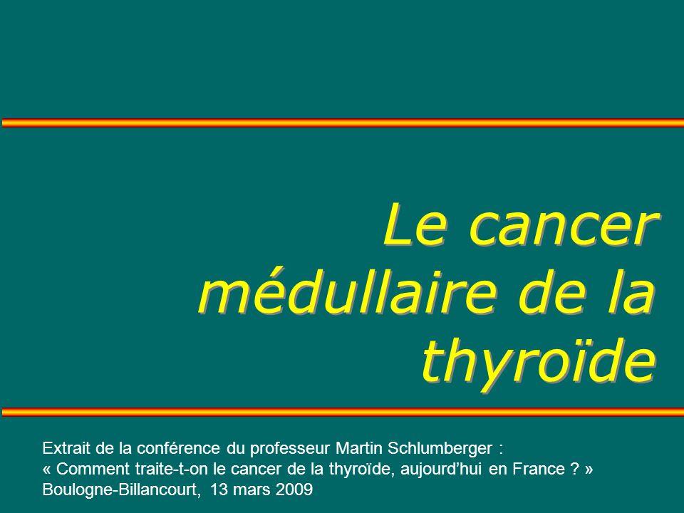 Le cancer médullaire de la thyroïde .PDF