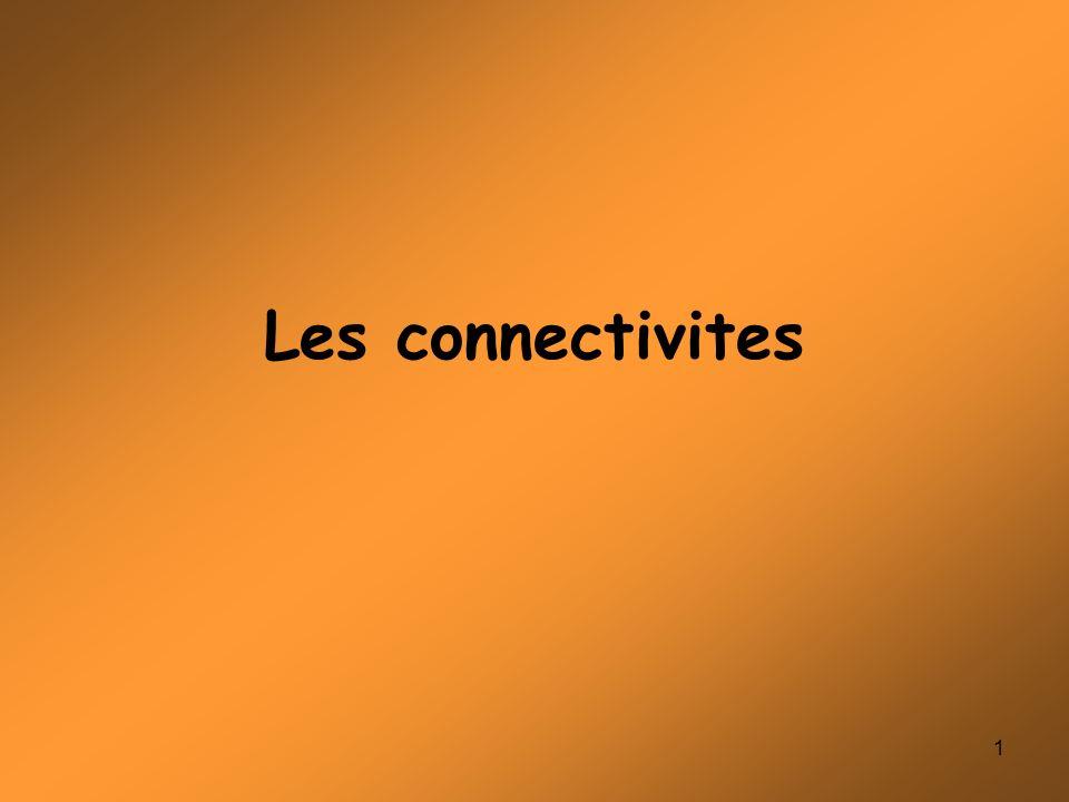 Les connectivites .PDF