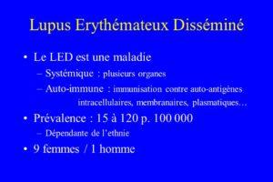 Lupus Erythémateux Disséminé .PDF