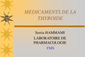 MEDICAMENTS DE LA THYROIDE .PDF