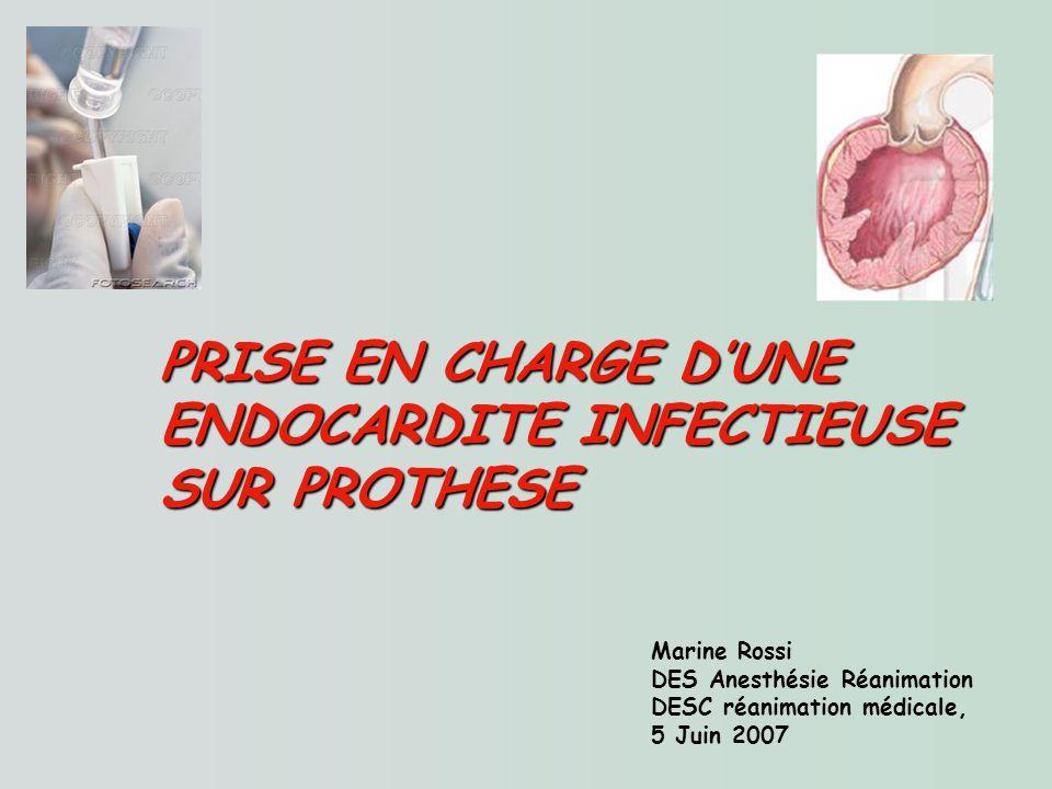 PRISE EN CHARGE D'UNE ENDOCARDITE INFECTIEUSE SUR PROTHESE .PDF