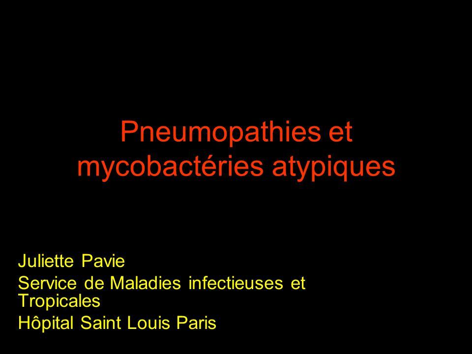 Pneumopathies et mycobactéries atypiques .PDF