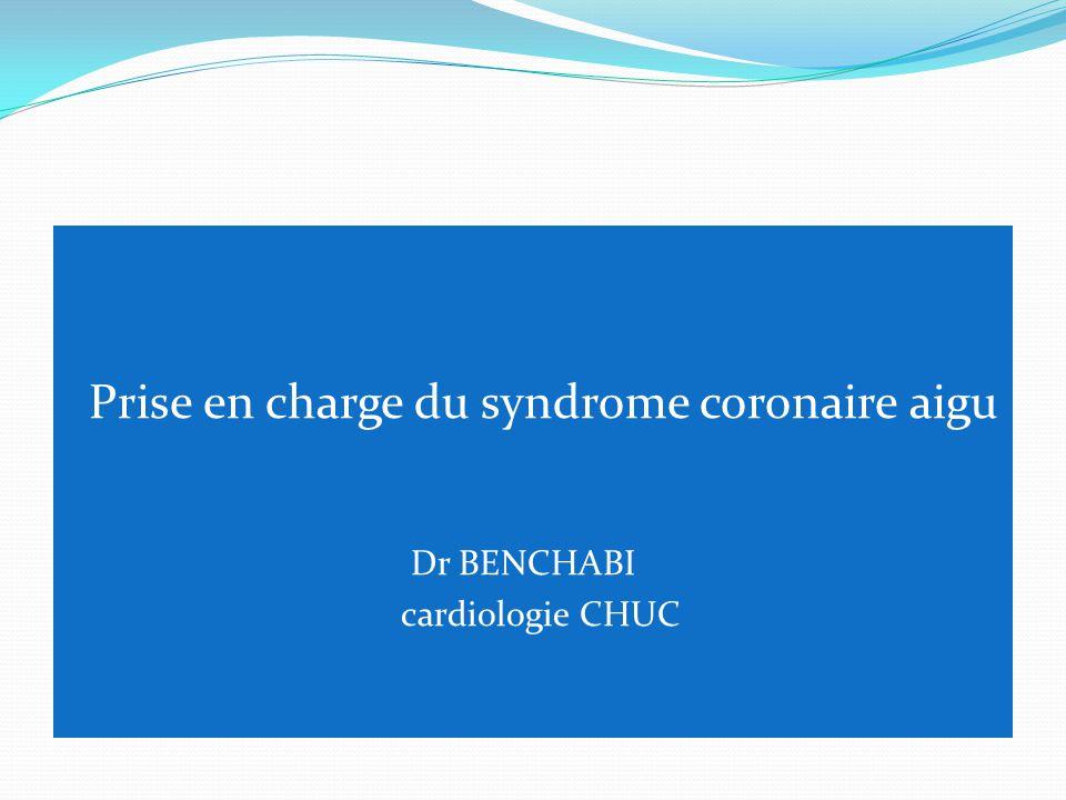 Prise en charge du syndrome coronaire aigu .PDF