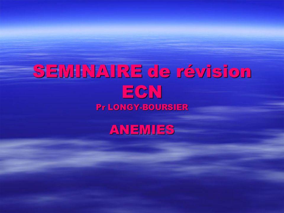 SEMINAIRE de révision ECN .QCM (PDF)