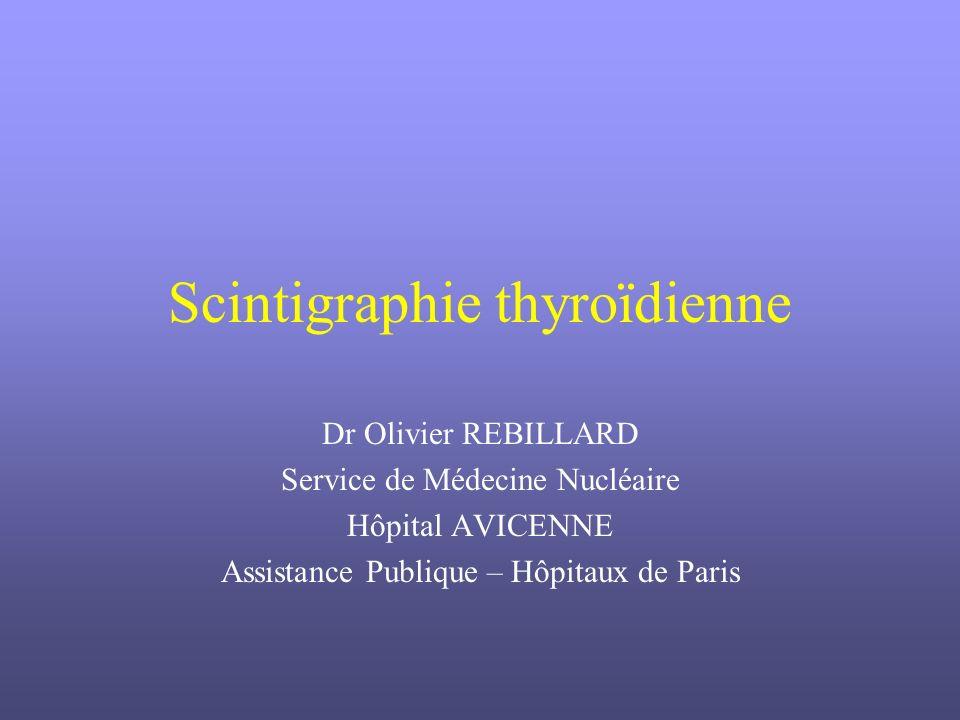 Scintigraphie thyroïdienne .PDF
