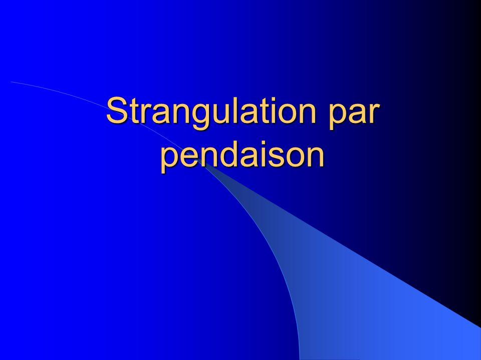 Strangulation par pendaison .PDF