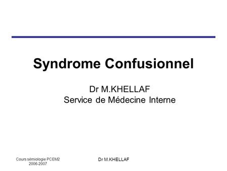 Syndrome Confusionnel .PDF