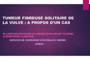 TUMEUR FIBREUSE SOLITAIRE DE LA VULVE .PDF