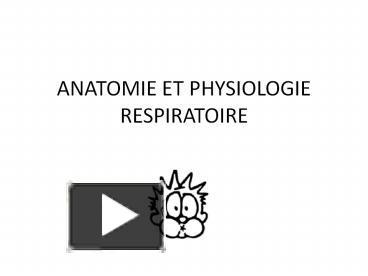COURS D'ANATOMIE ET PHYSIOLOGIE RESPIRATOIRE .PDF