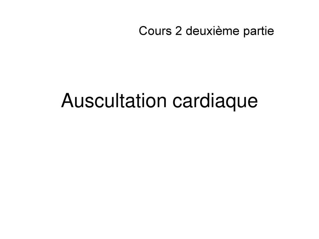Auscultation cardiaque .PDF