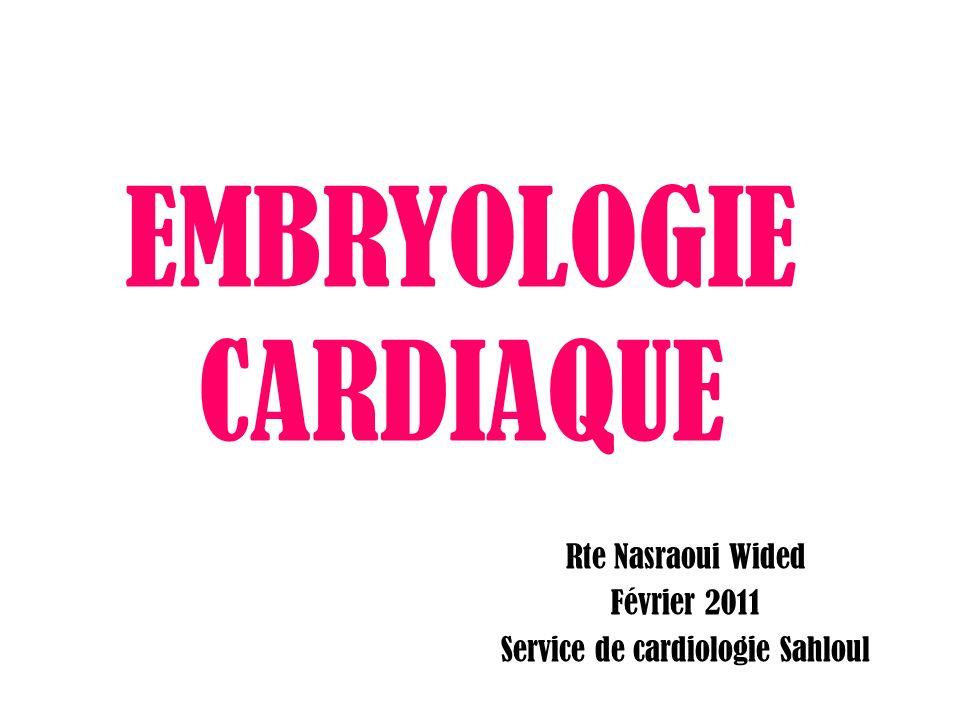 EMBRYOLOGIE CARDIAQUE .PDF