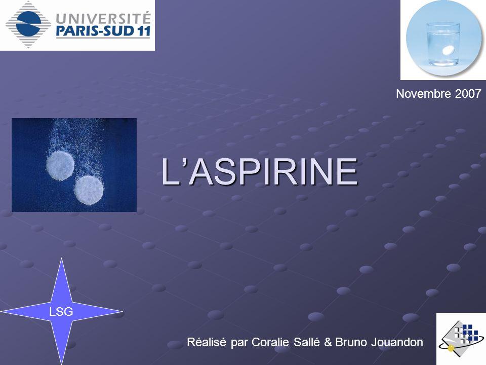 L'ASPIRINE .PDF