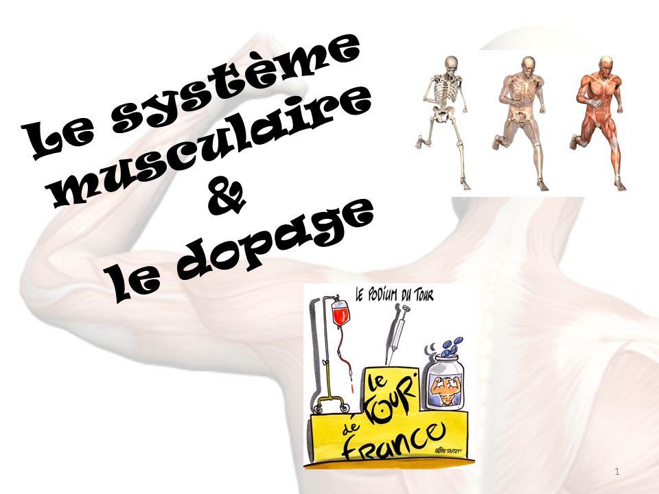 Le système musculaire et le dopage .PDF